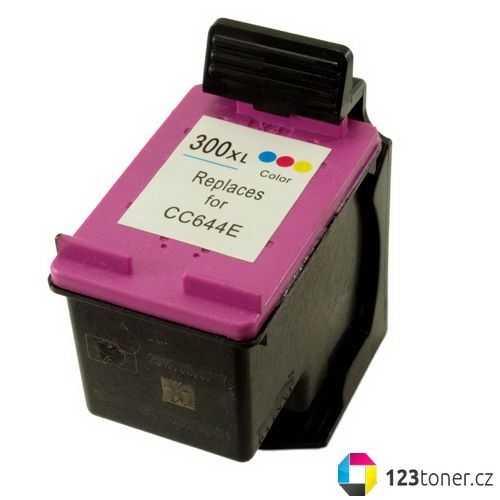 HP 300XL color (CC644EE) inkoustová kompatibilní barevná cartridge pro tiskárnu HP Envy 110 E-AIO