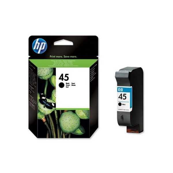 originál HP45 (51645A) black černá cartridge originální inkoustová náplň pro tiskárnu HP Photosmart 1115