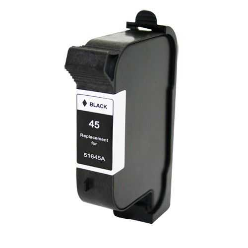 HP45 (51645A) black černá cartridge kompatibilní inkoustová náplň pro tiskárnu HP DesignJet 750C plus