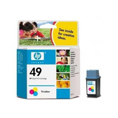 originál HP49 (51649A) color barevná cartridge originální inkoustová náplň pro tiskárnu HP DeskJet 610c