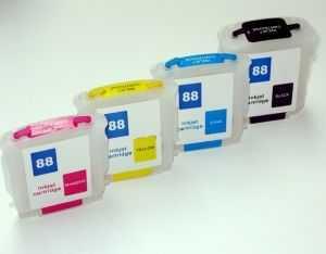 sada HP88XL cartridge inkoustové kompatibilní náplně pro tiskárnu HP OfficeJet Pro L7780