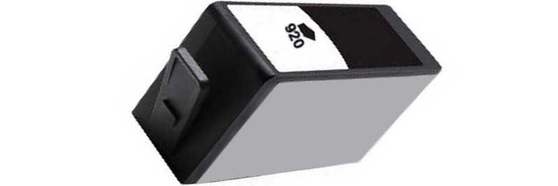 2x kompatibilní cartridge HP 920XL (CD975AE) black černá kompatibilní inkoustová cartridge pro tiskárnu HP OfficeJet 6500a