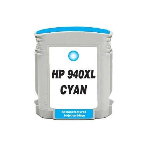 HP 940XL (C4907AE) cyan azurová modrá kompatibilní inkoustová cartridge pro tiskárnu HP OfficeJet Pro 8500a Plus