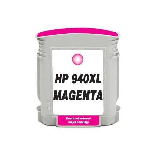HP 940XL (C4908AE) magenta purpurová červená kompatibilní inkoustová cartridge pro tiskárnu HP OfficeJet Pro 8500a Plus