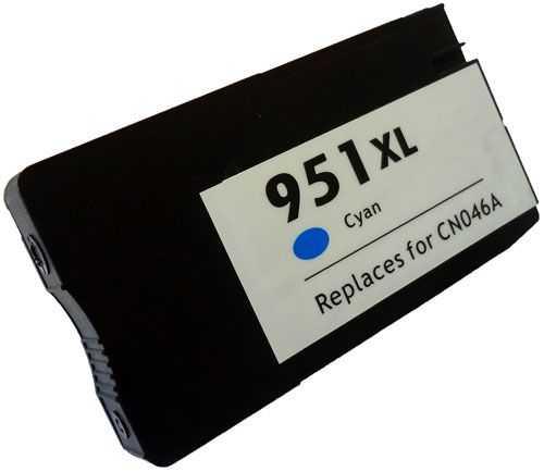 HP 951XL (CN046AE) cyan azurová modrá kompatibilní inkoustová cartridge pro tiskárnu HP OfficeJet Pro 8630