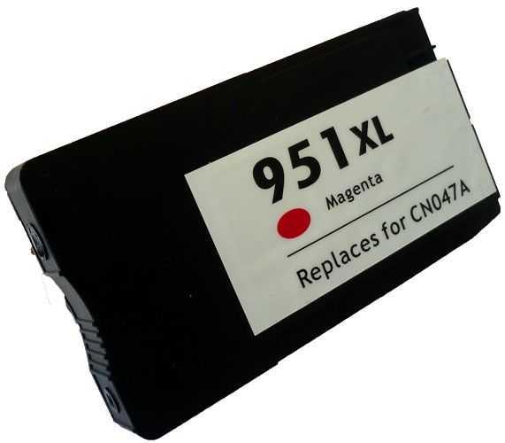 HP 951XL (CN047AE) magenta purpurová červená kompatibilní inkoustová cartridge pro tiskárnu HP OfficeJet Pro 8620