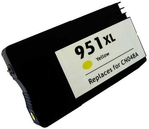 HP 951XL (CN048AE) yellow žlutá kompatibilní inkoustová cartridge pro tiskárnu HP OfficeJet Pro 8620