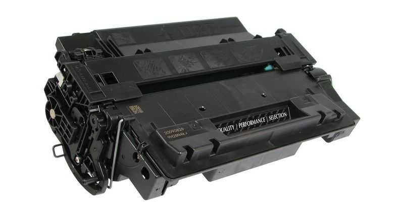 2x kompatibilní toner s HP 55X (HP CE255XD) black černý toner pro tiskárnu HP LaserJet P3015dn