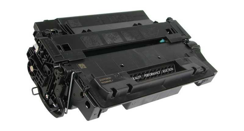 4x kompatibilní toner s HP 55X (HP CE255XD) black černý toner pro tiskárnu HP LaserJet P3015dn
