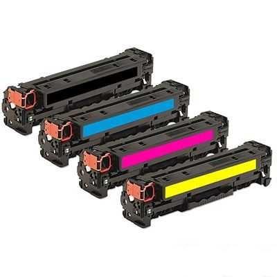 sada kompatibilních tonerů s HP 304A (HP CC530A, CC531A, CC532A, CC533A) 4x toner pro tiskárnu HP Color LaserJet CP2025dn