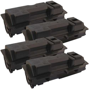 4x kompatibilní toner s -Kyocera TK-120 black černý toner pro tiskárnu Kyocera FS-1030DN