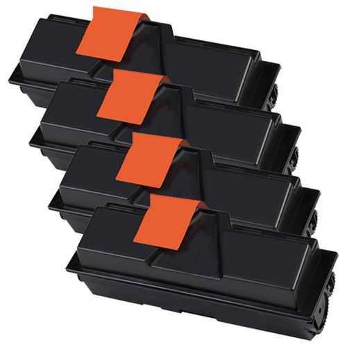 4x kompatibilní toner s Kyocera TK-170 black černý toner pro tiskárnu Kyocera FS-1320D