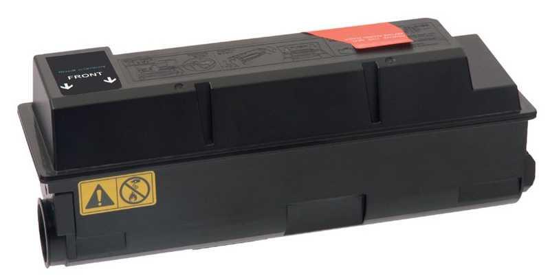 2x kompatibilní toner s Kyocera TK-320 black černý toner pro tiskárnu Kyocera FS-4000DTN