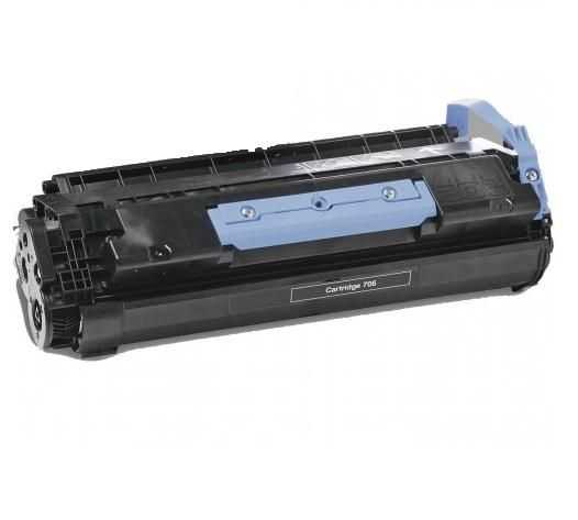 2x kompatibilní toner s Canon CRG-706 (5000 stran) black černý toner pro tiskárnu Canon MF6550