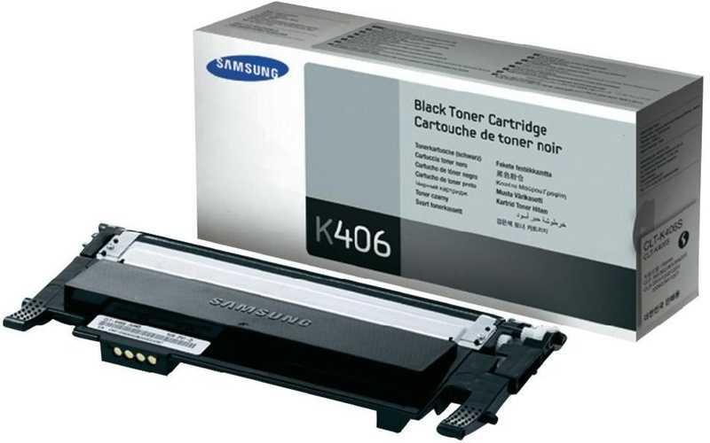 originální toner Samsung CLT-K406S black černý toner do tiskárny Samsung CLP-365