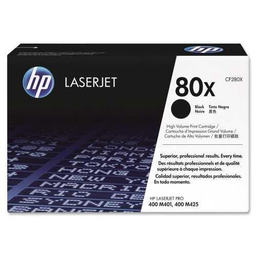 originál HP 80X, HP CF280X (8000 stran) černý originální toner pro tiskárnu HP LaserJet Pro 400 M401a