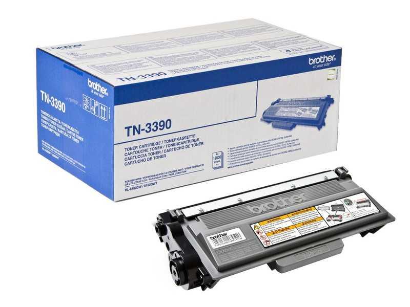 originál Brother TN-3390 černý kompatibilní toner pro tiskárnu Brother DCP-8150DN