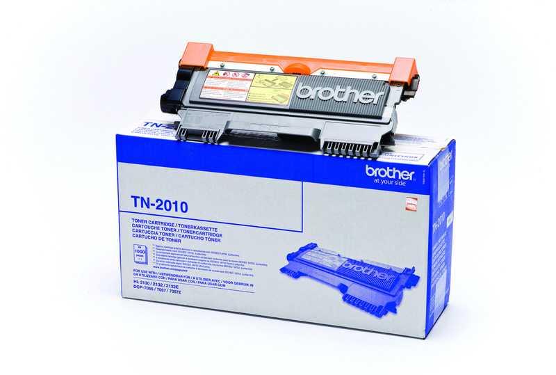 originál Brother TN-2010 (1000 stran) černý kompatibilní toner pro tiskárnu Brother DCP-7055