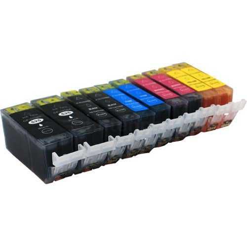 2x sada Canon PGI-525 + CLI-526 cartridge kompatibilní inkoustové náplně pro tiskárnu Canon Pixma MG8250