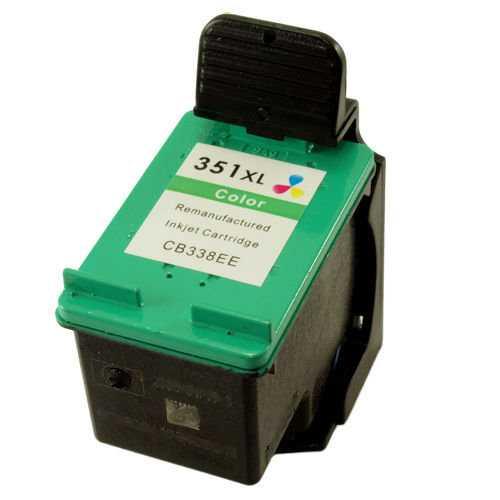 2x HP 351XL (CB338EE) color barevná cartridge kompatibilní inkoustová náplň pro tiskárnu HP Photosmart C4380