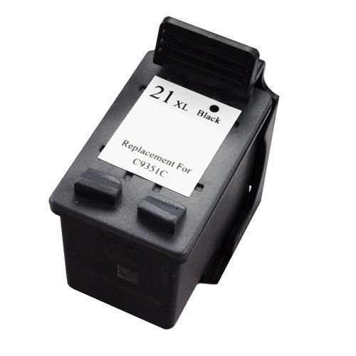 2x HP 21XL (C9351CE) black cartridge černá kompatibilní inkoustová náplň pro tiskárnu HP DeskJet D1560