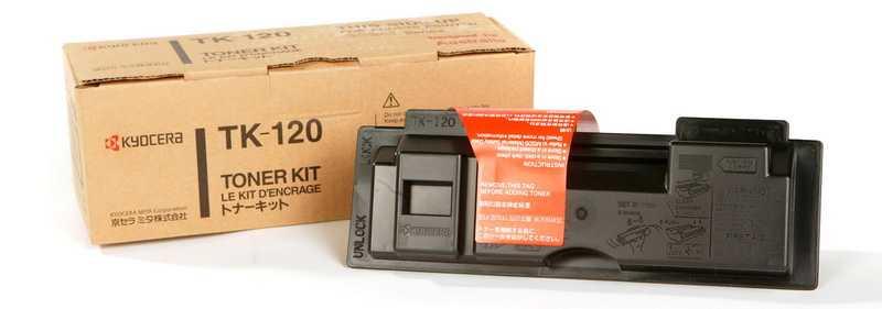 originál Kyocera TK-120 černý originální toner pro tiskárnu Kyocera FS-1030DN