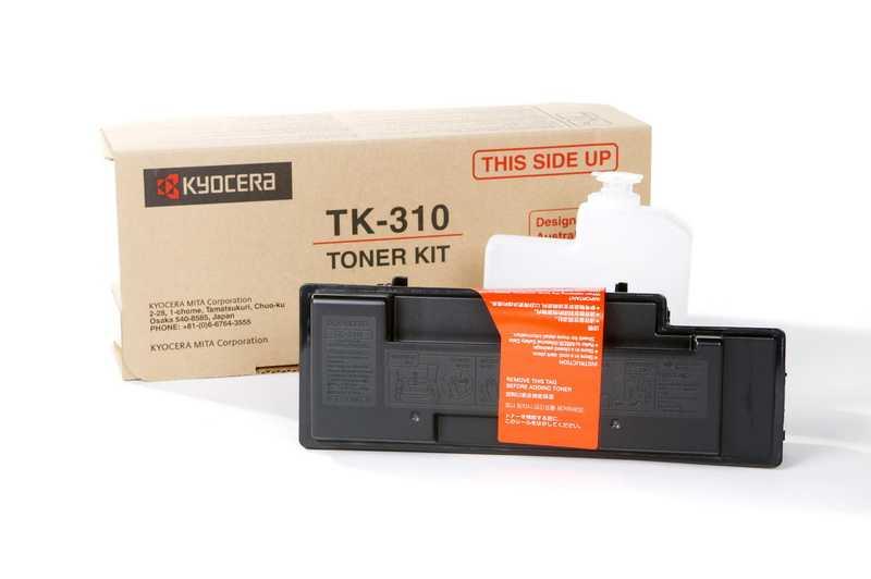 originál Kyocera TK-310 černý originální toner do tiskárny Kyocera FS-2000DN