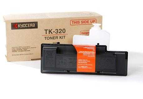 originál Kyocera TK-320 černý originální toner do tiskárny Kyocera FS-4000DTN