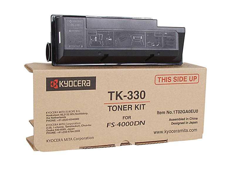 originál Kyocera TK-330 černý originální toner pro tiskárnu Kyocera FS-4000DN