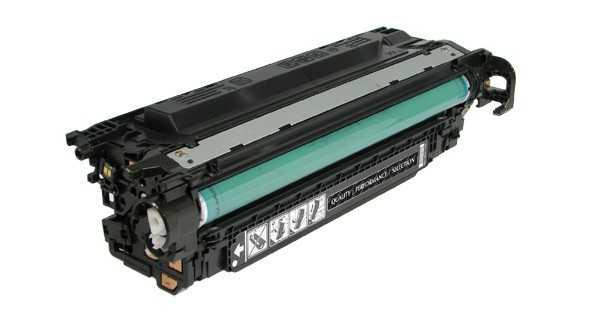 2x kompatibilní toner s HP CE250X, HP 504X (10500 stran) black černý velkokapacitní toner pro tiskárnu HP Color LaserJet CP3525n