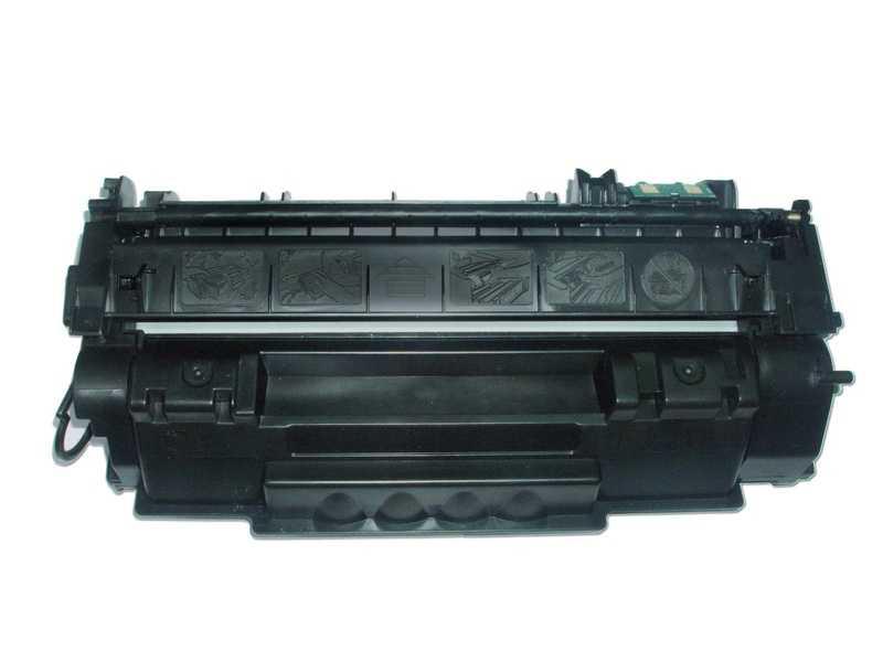 kompatibilní toner s Canon CRG-715 (3000 stran) černý toner pro tiskárnu Canon LBP3370