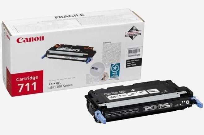 originál Canon CRG-711 black černý originální toner pro tiskárnu Canon i-SENSYS MF9280Cdn