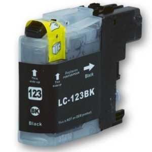 Brother LC-123 BK black cartridge černá kompatibilní inkoustová náplň pro tiskárnu Brother MFC-J870DW