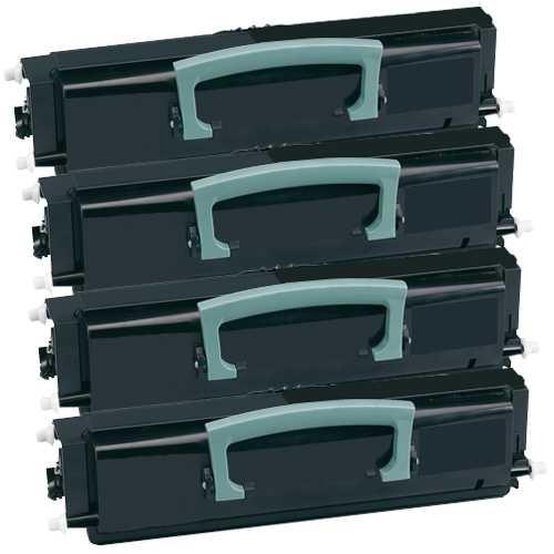 4x kompatibilní toner s Lexmark E230/E340 - 12A3405 black černý toner pro tiskárnu Lexmark E332n