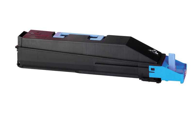 kompatibilní toner s Kyocera TK-855c 1T02H7CEU0 cyan modrý azurový toner pro tiskárnu Kyocera TASKalfa 400ci
