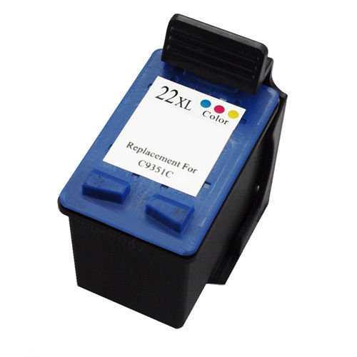 HP 22XL (C9352CE) color cartridge kompatibilní barevná inkoustová náplň pro tiskárnu HP DeskJet D1560