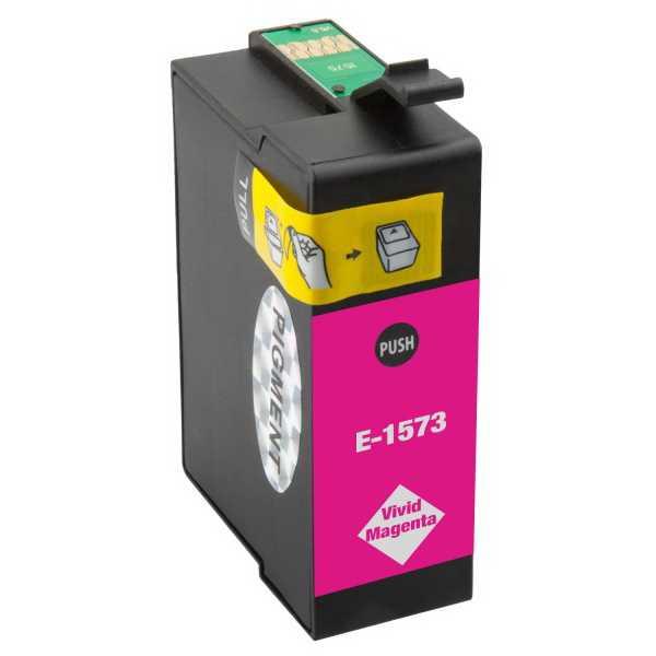 Epson T1573 magenta cartridge purpurová červená kompatibilní inkoustová náplň pro tiskárnu Epson Stylus Photo R3000