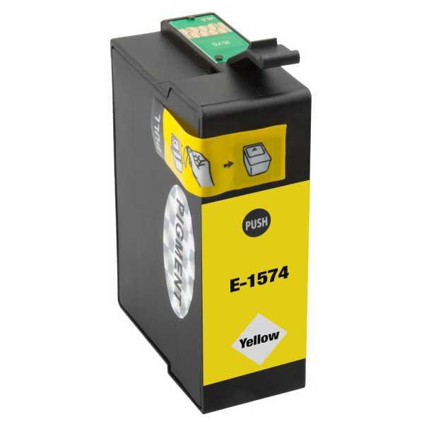 Epson T1574 yellow cartridge žlutá kompatibilní inkoustová náplň pro tiskárnu Epson Stylus Photo R3000