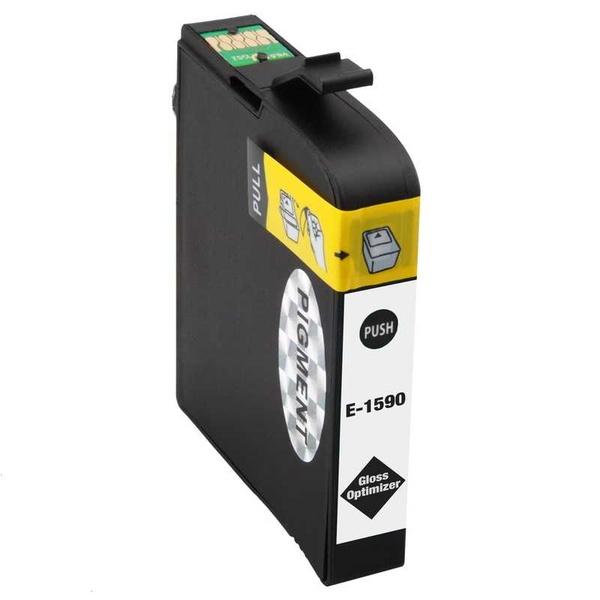 Epson T1590 gloss optimizer optimalizátor lesku lesklá kompatibilní inkoustová náplň pro tiskárnu Epson Stylus Photo R2000