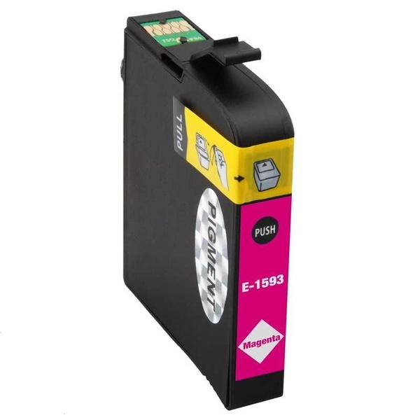 Epson T1593 magenta červená purpurová kompatibilní inkoustová cartridge náplň pro tiskárnu Epson Stylus Photo R2000