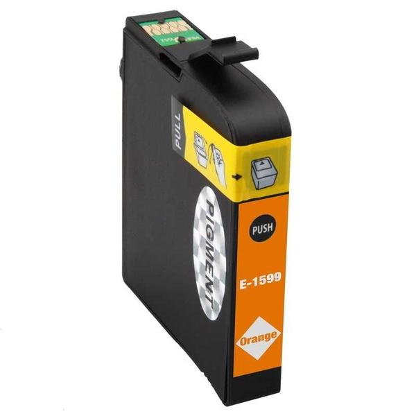 Epson T1599 orange oranžová kompatibilní inkoustová cartridge náplň pro tiskárnu Epson Stylus Photo R2000