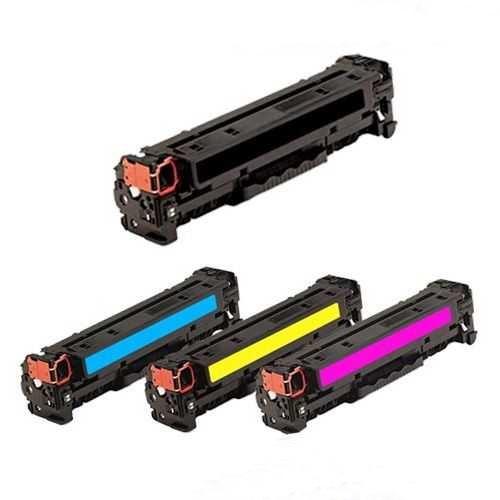 sada tonerů kompatibilních s HP 312A (HP CF380A, CF381A, CF382A, CF383A) - 4x toner pro tiskárnu HP Color LaserJet Pro MFP M476nw