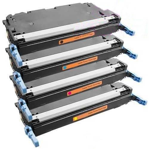 sada tonerů kompatibilních s Canon CRG-711 BK,C,M,Y - 4x toner pro tiskárnu Canon LBP5300