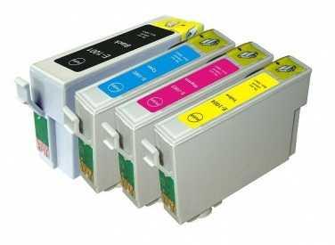sada Epson T1006 (T1001, T1002, T01003, T1004) kompatibilní cartridge, inkoust pro tiskárnu Epson Stylus SX515W