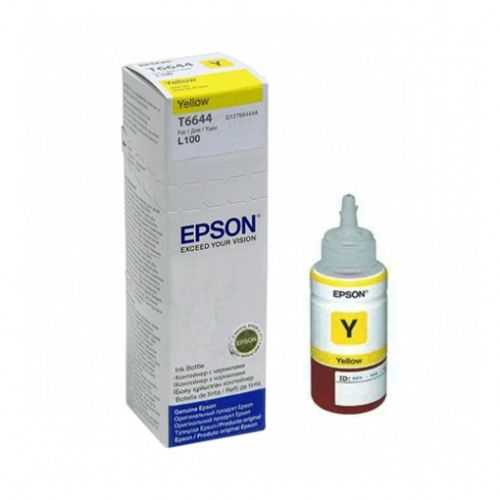 originální inkoust Epson T6644 žlutý inkoust 70 ml pro tiskárnu Epson L100