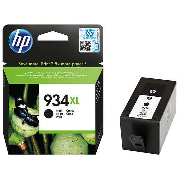 originál HP 934XL C2P23AE black černá originální cartridge inkoustová náplň pro tiskárnu HP HP OfficeJet Pro 6830