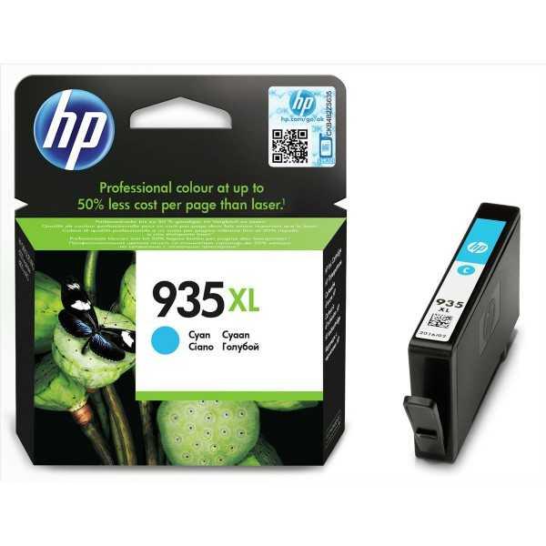 originál HP 935XLC C2P24AE cyan modrá originální cartridge inkoustová náplň pro tiskárnu HP OfficeJet Pro 6830
