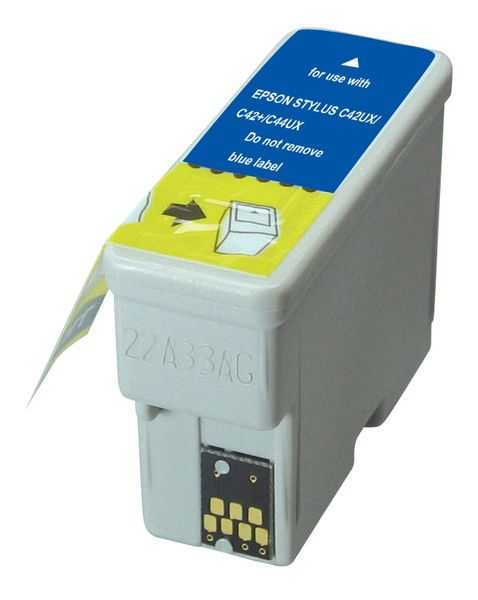 kompatibilní s Epson T036 (T036140) black cartridge černá inkoustová náplň pro tiskárnu Epson Stylus C42UX