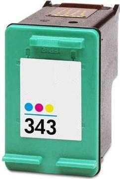 HP 343 (C8766EE) color barevná cartridge kompatibilní inkoustová náplň pro tiskárnu HP OfficeJet 7210