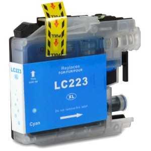 kompatibilní s Brother LC-223 C cyan cartridge modrá azurová inkoustová náplň pro tiskárnu Brother MFC-J4625DW